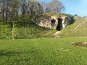 oude ingang grot Sint Pieter